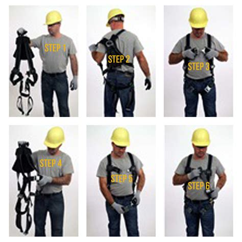 how to put a harness on a how to put on a harness fall protection systems