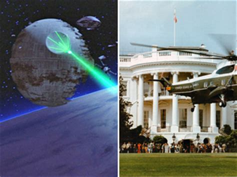 white house death star use the force donate to kickstarter caign to build the death star technology