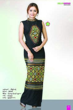 Country Style Clothes For Women - myanmar dress