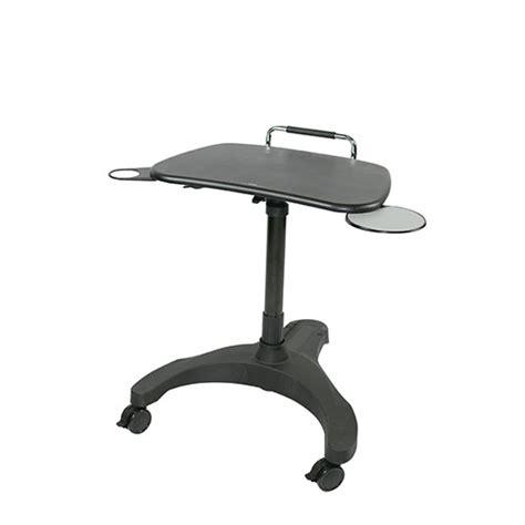 Upanatom Height Adjustable Laptop Trolley For Sale Stand Up Desk Sydney