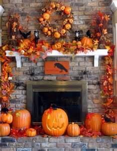 Halloween Fall Decorating Ideas 50 Great Halloween Fireplace Mantel Decorating Ideas