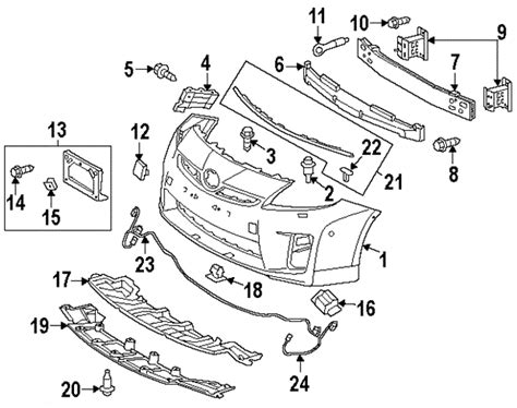 toyota parts diagram 2011 toyota camry front bumper diagram 2011 get free
