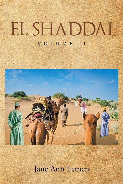 author lemen s new book el shaddai volume ii is