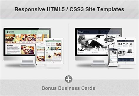 Responsive Html5 Css3 Site Templates For Only 24 Bonus Inkydeals Responsive Website Templates Free Html5 With Css3