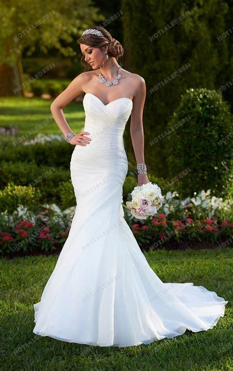 Sweetheart Wedding Dress by Stella York Sweetheart Neckline Wedding Dress Style 6042
