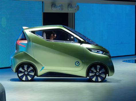 Nissan Pivo3 Concept New Ideas For A Production Electric