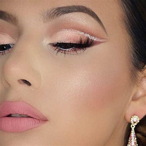 makeup tutorial natural look peachy brown 25 perfect holiday makeup looks and tutorials abbuzz