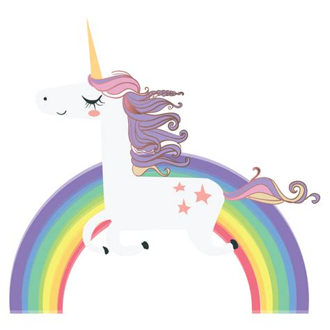 rainbow wall stickers unicorn wall sticker rainbow wall decal bedroom