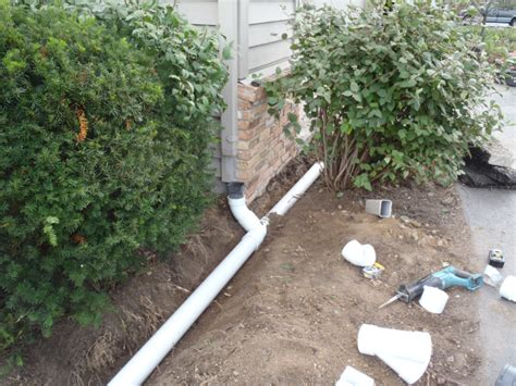 Backyard Drain by Residential Drainage Ditch Www Imgkid The Image Kid Has It