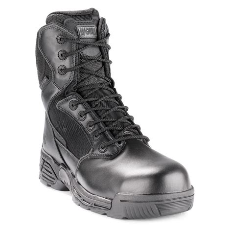 Magnum Stealth 8 0 Side Zip magnum 8 quot stealth side zip waterproof composite toe boot