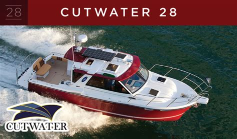 cutwater boats performance cutwater boats