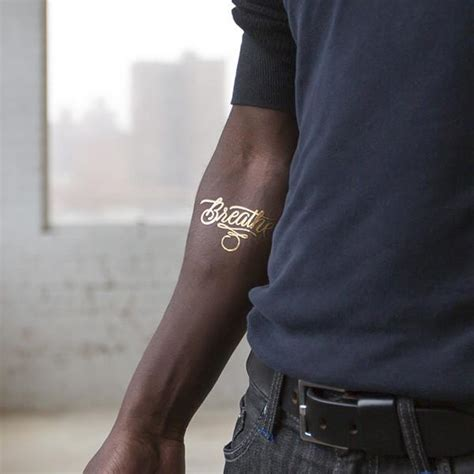 temporary tattoo manila tattly breathe gold by patrick cabral from tattly
