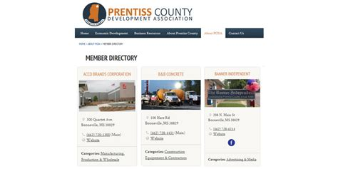 business directory layout design new design options for business directory chamber dashboard