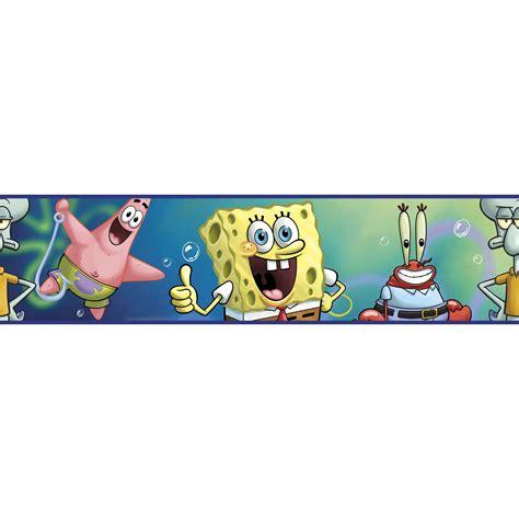 Room Mates Licensed Designs SpongeBob Square Pants Border
