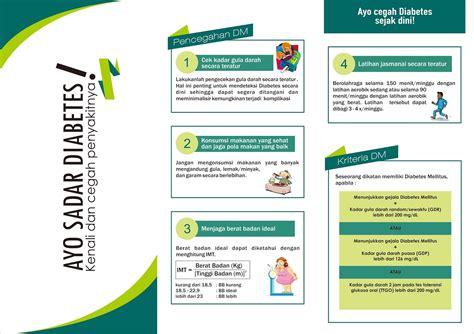 cara membuat brosur tentang kesehatan contoh leaflet dan ppt penyuluhan diabetes mellitus