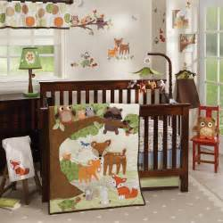 Forest Animal Crib Bedding Woodland Tales By Lambs Lambs