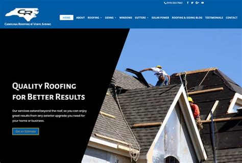 Carolina Roofing Vinyl Siding - our new website is live carolina roofing vinyl siding