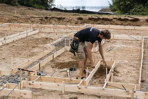 layout of building foundation building stem wall foundations jlc online concrete