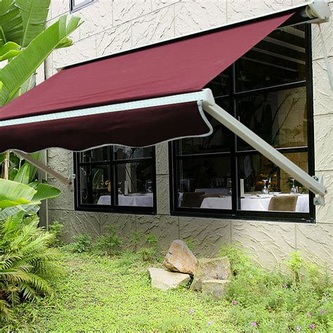 heavy duty awning outt 4 ft retractable window awning door canopy extra