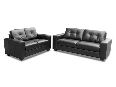 3 2 black leather sofas black brown 3 2 seater mix leather sofa suite homegenies