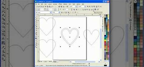 create pattern corel draw how to draw a heart box scroll saw pattern in corel draw
