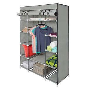 Portable Wardrobe Closet On Wheels - wardrobe new armoire ikea corner portable used ebay
