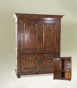 Western Jewelry Armoire by Classic Distressed Armoire Western Armoires Free Shipping