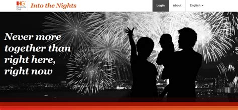 Ihg Gift Card Promotion - ihg into the nights promotion 2 free nights 54 200 points