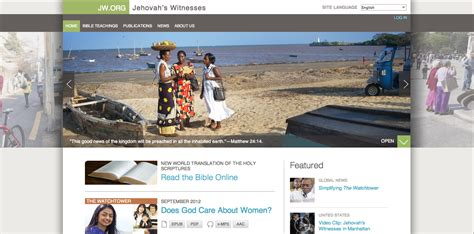 jehovah s witnesses website gets an upgrade maka boy