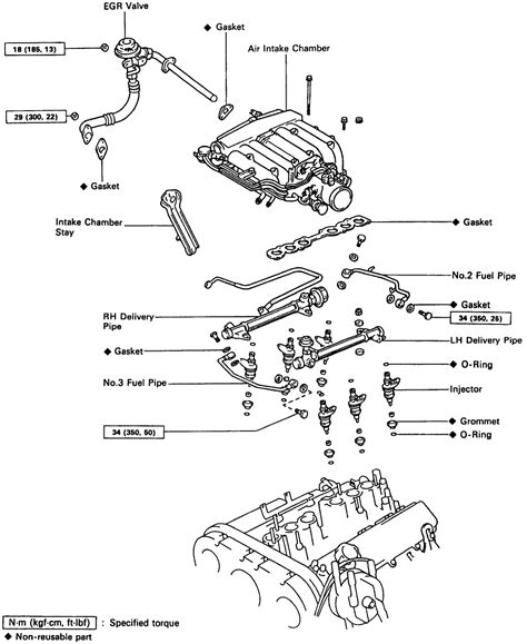 toyota line 92 toyota pickup engine diagram get free image about