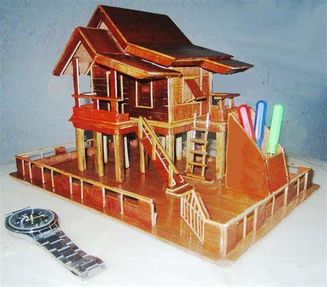 gambar cara membuat miniatur rumah dari kardus gambar rumah dari kardus gambar v
