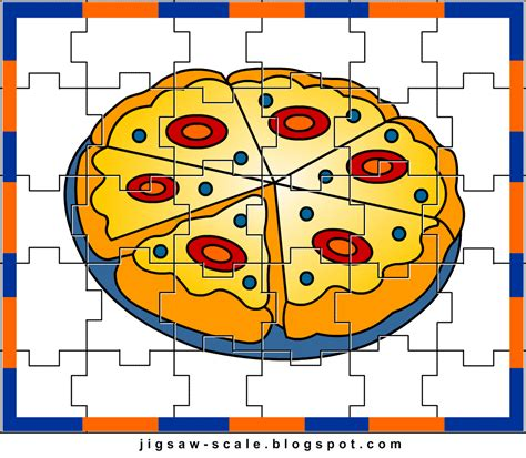 printable jigsaw puzzles for kindergarten free printable puzzle pizza picture jigsaw puzzle games