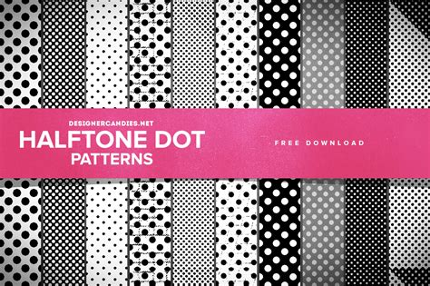 photoshop tutorial creating vector halftones free halftone dot patterns for photoshop designercandies