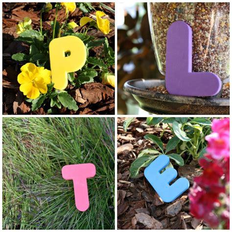 The Letter Garden by Garden Abc Letter Hunt Fantastic Learning
