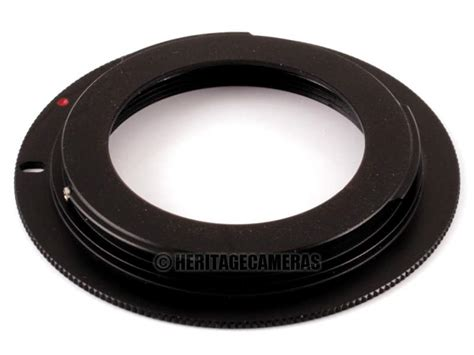 Adapter Lensa M42 Canon Eos adapter for most m42 lenses on many canon eos and digital slr cameras with cap