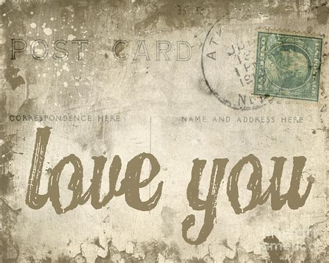 i love vintage vintage love letters photograph by edward fielding