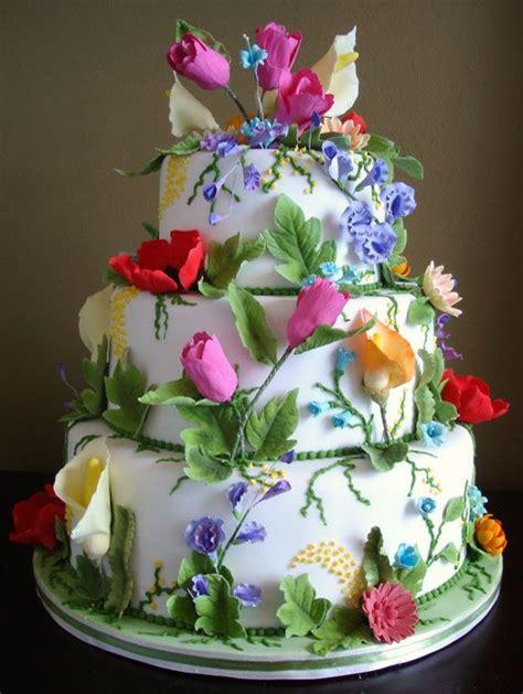 Flower Garden Cake Ideas Wedding Custom Wedding Cakes Toronto Cakes Pinterest Gardens Beautiful And