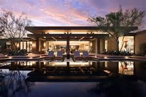 modern desert home contemporary pool orange county
