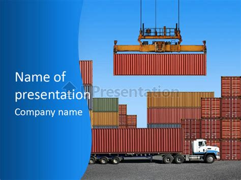 logistics powerpoint template powerpoint templates free logistics image collections