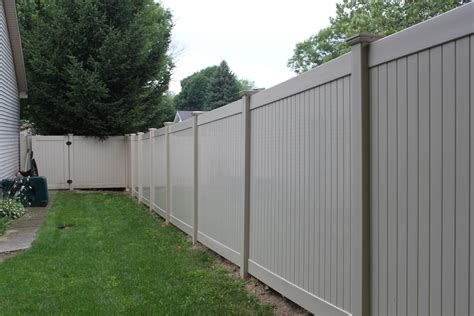 privacy fences privacy fence vinyl fence for securing a yard area for your home