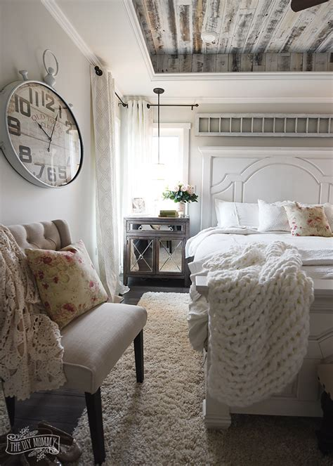 modern french country master bedroom  room