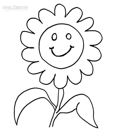 Printable Smiley Coloring Pages
