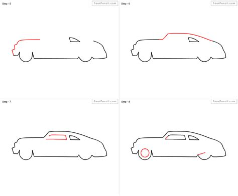 steps for car how to draw racing car easy steps for step by step 2804