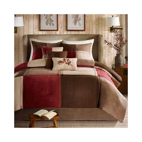 get madison park maddox 7 pc comforter set limited