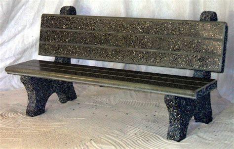 precast benches commercial park bench dominion precast