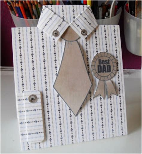how to make shirt and tie card top 10 s day diy cards top inspired