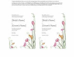 wedding invitation template word microsoft word 2013 wedding invitation templates