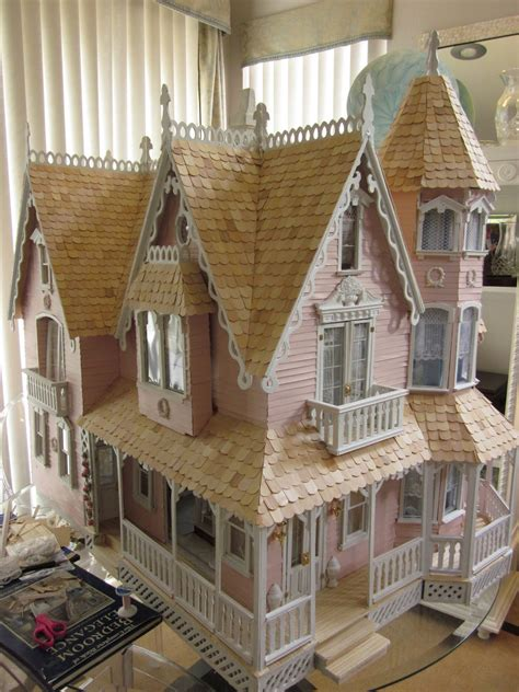 green leaf doll houses la grande maison the greenleaf garfield dollhouse a work