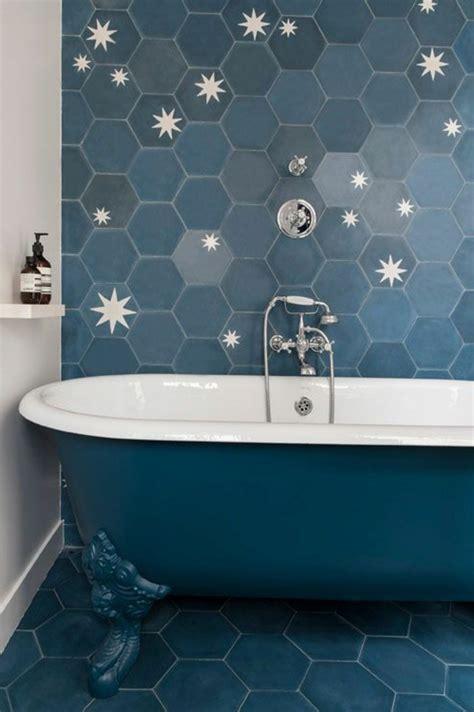 Vintage Bathroom Design Le Carrelage Hexagonal Une Tendance Qui Fait Son Grand