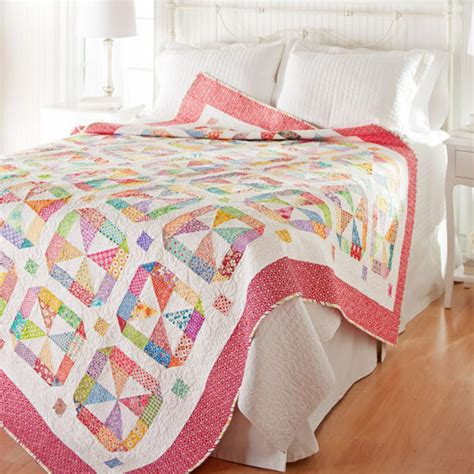 American Patchwork Quilting - color options from american patchwork quilting february